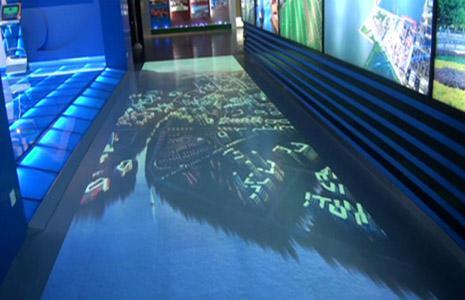 展览新科技-地面互动投影